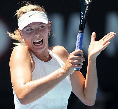 シャラポワ オーストラリアオープン 2008